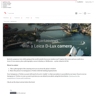 Win a Leica D-Lux camera + a photography course in Sydney or Melbourne!