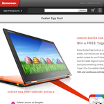 Win a Lenovo YOGA 2 Pro laptop!
