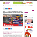 Win a Limited Edition Weet-Bix Cookbook Hamper