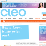 Win a 'Love, Rosie' prize pack!