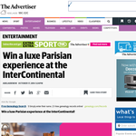 Win a luxe Parisian experience at the InterContinental!