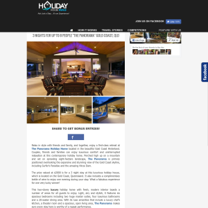Win a Luxurious Gold Coast Retreat