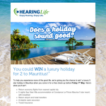 Win a luxury holiday for 2 to Mauritius!