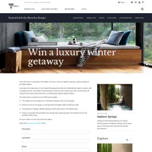 Win a luxury weekend in Daylesford (no travel)