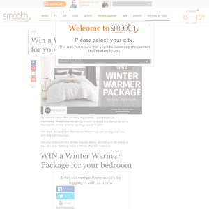 Win a Manchester Winter Warmer Package
