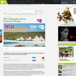 Win a Margaret River Gourmet Escape