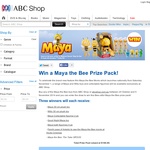 Win a Maya the Bee Prize Pack!