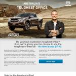 Win a Mazda BT-50!