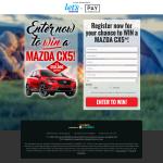 Win a MAZDA CX5