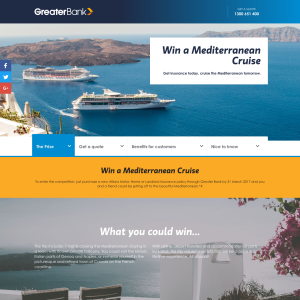 Win a Mediterranean Cruise! (Purchase Required)