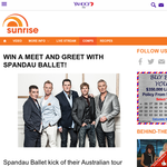 Win a meet and greet with Spandau Ballet