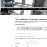 Win a Melbourne Escape with Melbourne Style