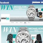 Win a Michael Kors watch & a MineTan pack!