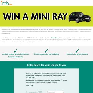 Win a Mini Ray!