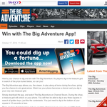 Win a Mitsubishi Outlander, 1 of 10 $5,000 'Helloworld Adventure Holiday' vouchers + MORE!