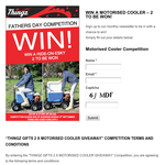 Win a Motorized Cooler