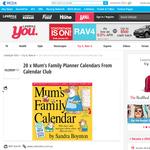 Win a Mum's Family Planner Calendar From Calendar Club