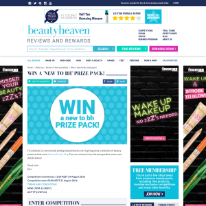 Win a 'New to Beauty Heaven' prize pack!