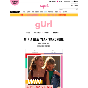 Win a new year wardrobe