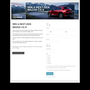 Win a Next-Gen Mazda CX-5