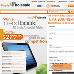 Win a Nextbook Premium 10 Inch Android Tablet