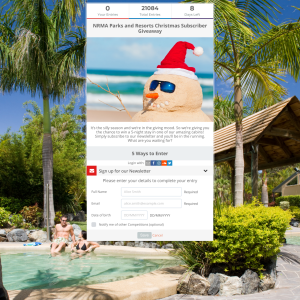 Win a NRMA Parks and Resorts Christmas Subscriber Giveaway