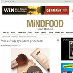 Win a 'Nude by Nature' prize pack!