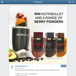 Win a Nutribullet & a range of Arctic Berry powders!