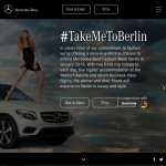 Win a once-in-a-lifetime chance to attend Mercedes‑Benz Fashion Week in Berlin!