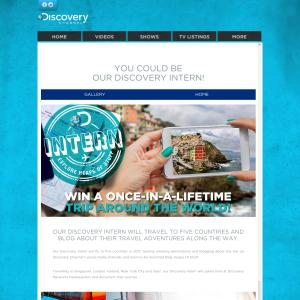 Win a once-in-a-lifetime trip around the world!