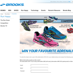 Win a pair of Adrenaline GTS sneakers!