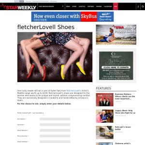 Win a pair of fletcherLovell ballet flats