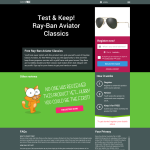Win a pair of Ray-Ban Aviator 'Classics' to test and keep!