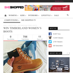 Win a pair of Timberland women's boots!