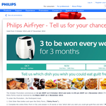 Win a Philips Air Fryer
