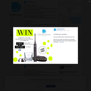 Win a Philips Sonicare Diamond Clean Electronic Toothbrush, valued at $369.95!