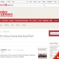 Win a 'Piazza' caravan!