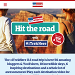 Win a place on the 'TrekAmerica Westerner 2' tour in the USA!
