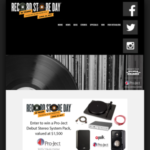 Win a Pro-Ject Debut Stereo System Pack, valued at $1,500!