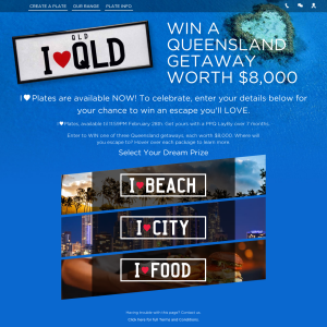 Win a Queensland getaway worth $8,000! (QLD Residents ONLY)