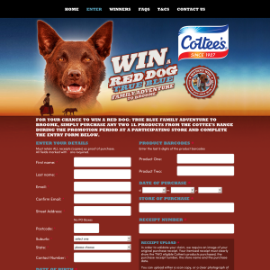 Win a Red Dog 'True Blue' family adventure to Broome!