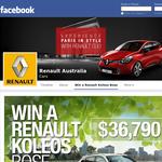 Win a Renault Koleos Bose!