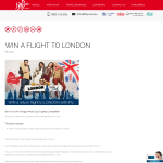 Win a return flight to London with Emirates!