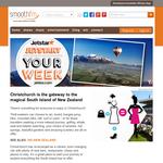 Win a return trip to Christchurch, NZ