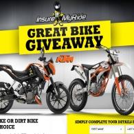 Insure My Ride Win A Road Bike Or Dirt Bike