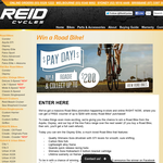 Win a Road Bike!