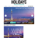 Win a romantic trip to Macao!