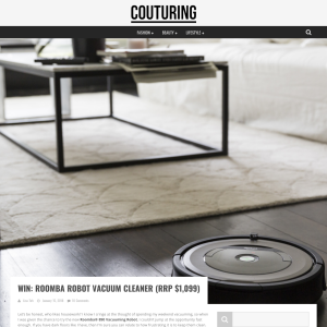 Win a Roomba Robot Vacuum Cleaner