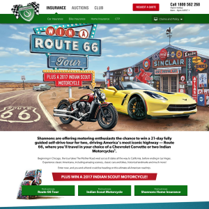 Win a 'Route 66' tour + a 2017 Indian Scout Motorcycle!