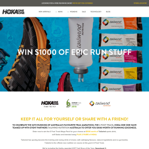 Win a Running Prize Pack